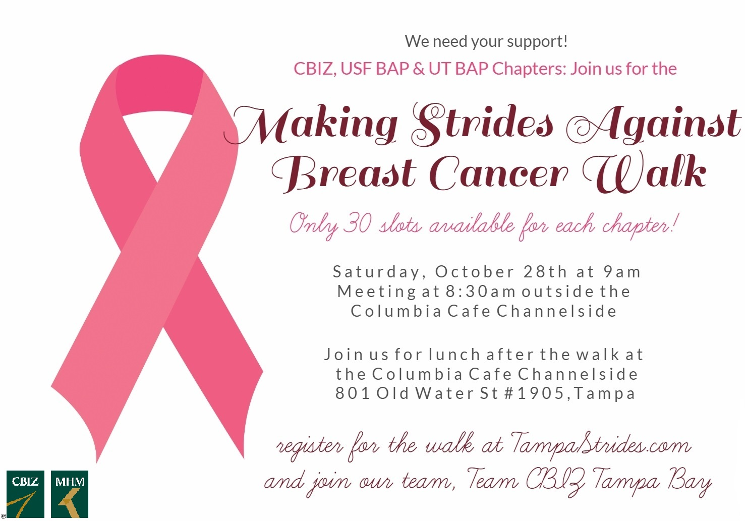 walk tampa cancer Breast in